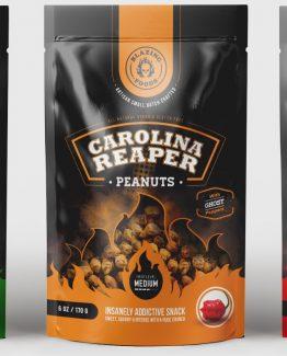 worlds hottest CAROLINA REAPER PEANUTS