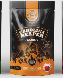 worlds hottest CAROLINA REAPER PEANUTS