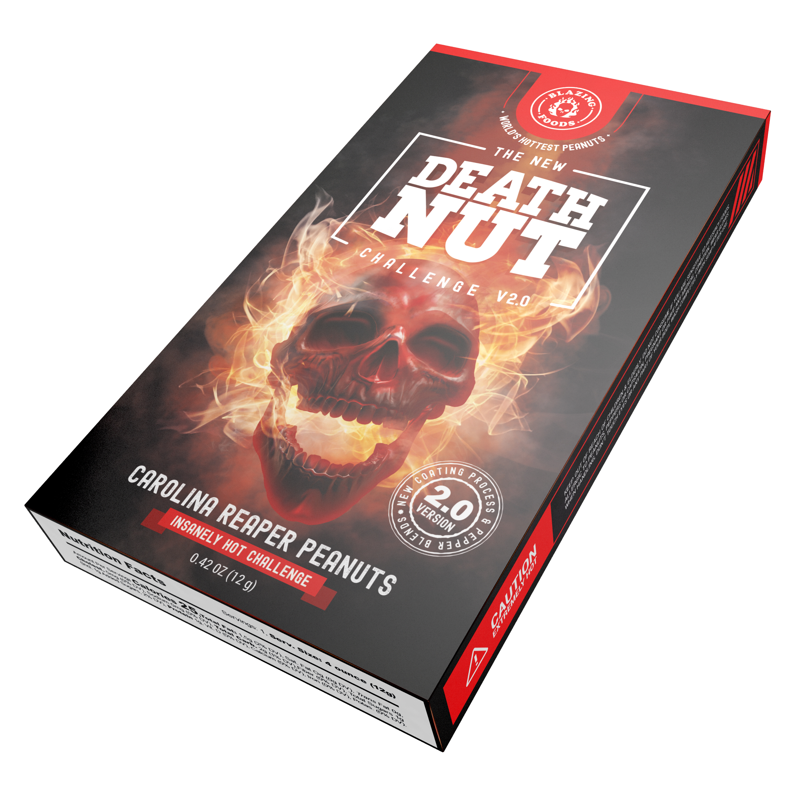 Death Nut Challenge 2: Hottest Blazing Peanuts On Earth