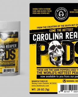 Carolina Reaper Pepper Pods